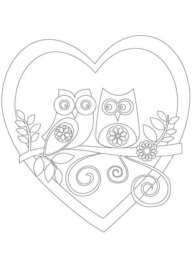 Схема шаблон Совушкина любовь