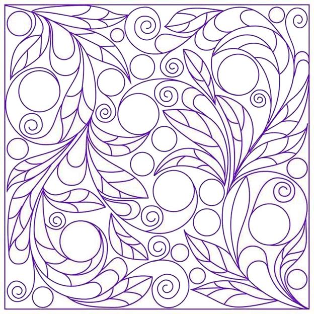 Схема шаблон Ягодная композиция