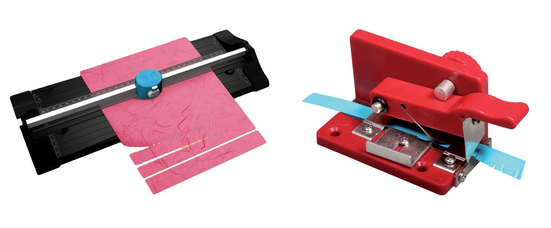Манки для нарезки бумаги полосками и бахромой