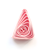 Элемент квиллинга ролл Треугольник