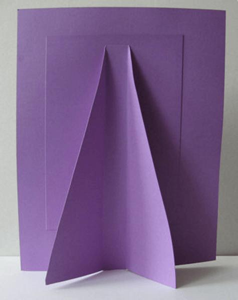 Готовая бумажная рамка с квиллинг элементами оборотная сторона