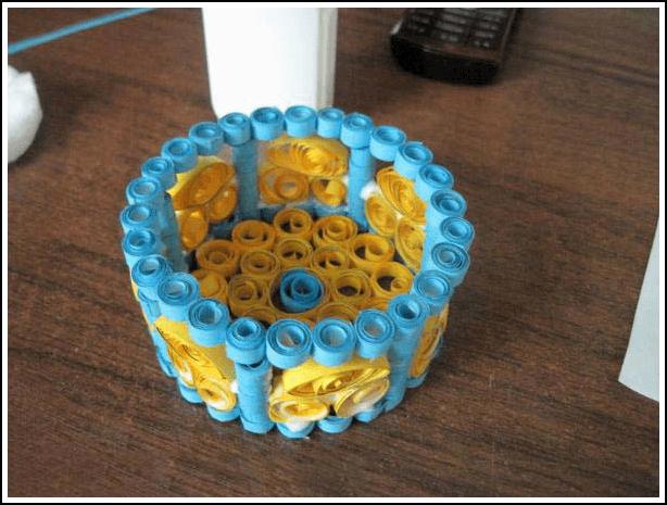 Изготовление бумажной шкатулки