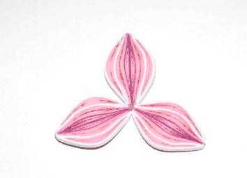 Изготовление бумажного цветка квиллинг Орхидеи