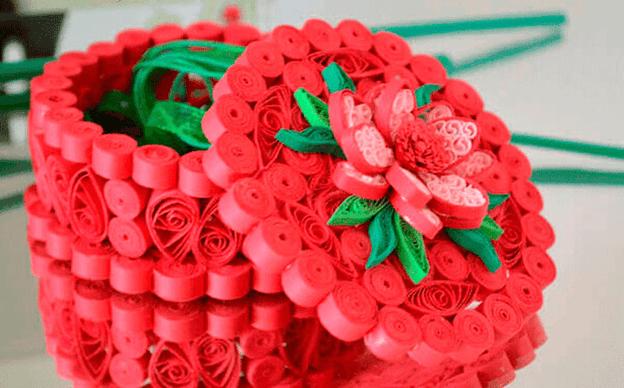 Цветочная шкатулка
