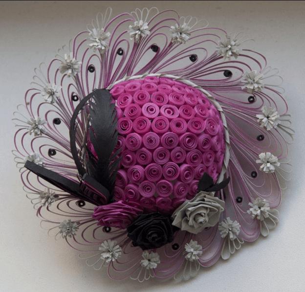 Элегантная шляпка