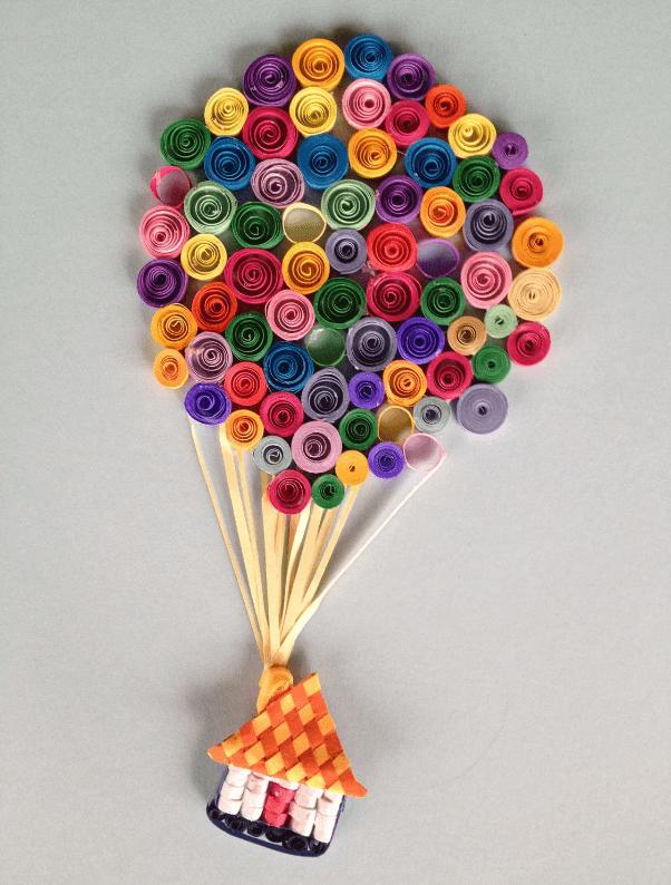 Бомик на воздушных шарах