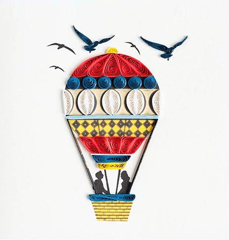 Влюблённый на воздушном шаре