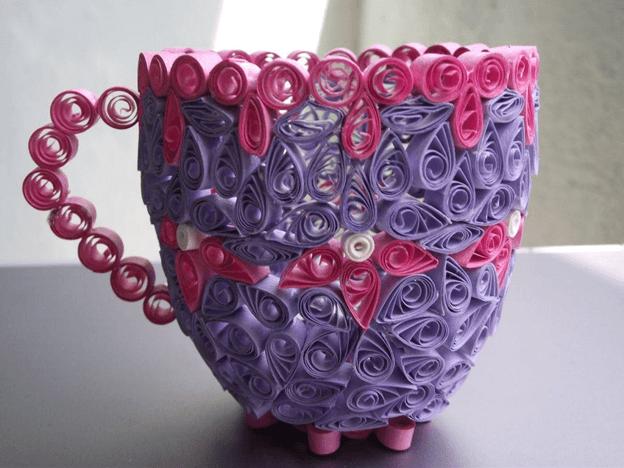 Чашка из бумаги