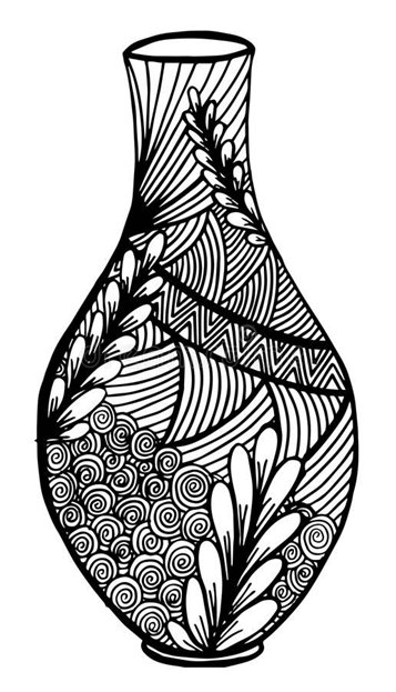 Схема вазы