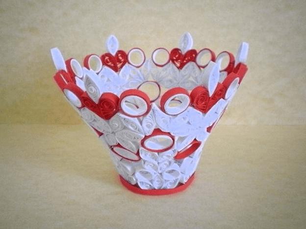 Квиллинг вазы