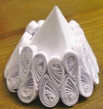 Изготовление бумажного ангела в стиле технике квиллинга