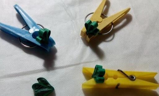 Изготовление бумажной декоративной подвески венка в стиле технике квиллинга