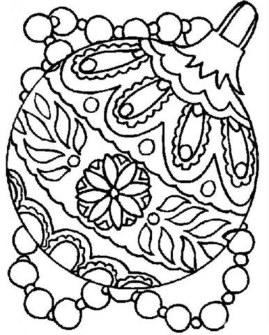 Схема шаблон бумажного шарика на ёлку в стиле технике квиллинга