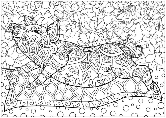 Схема шаблон бумажного цветочного поросёнка