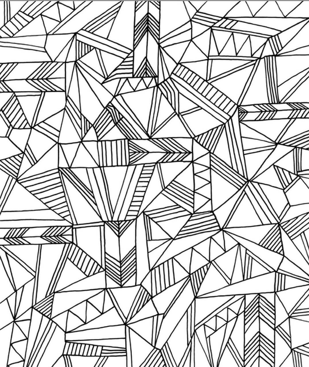 далеко раскраска антистресс абстракция верхневязовской