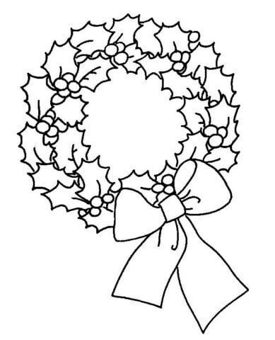 Схема шаблон бумажной поделки к Рождеству