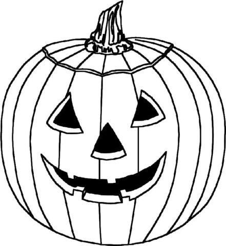 Схема шаблон для поделки на хэллоуин