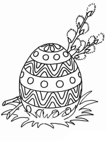 Схема шаблон на Рождество Христово к Пасхе