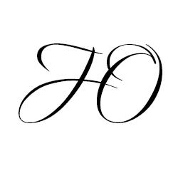 Схема шаблон буквы Ю русского алфавита