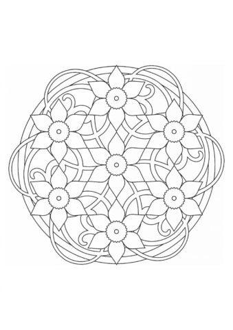 Схема для заполнение квиллинг элементами