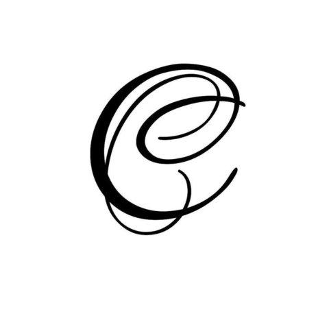 Схема шаблон буквы С русского алфавита