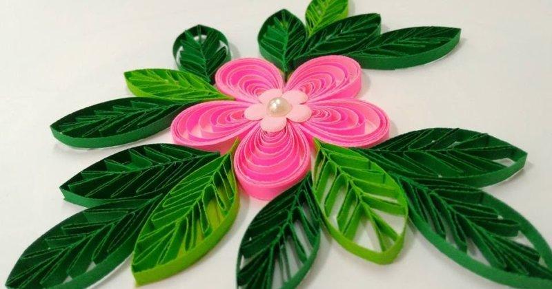 Пример квиллинг цветов