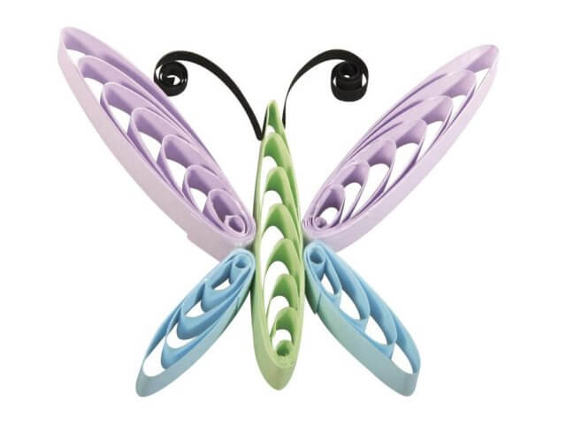Петельчатая квиллинг стрекоза