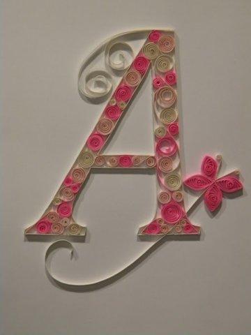 Готовая буква А русского алфавита