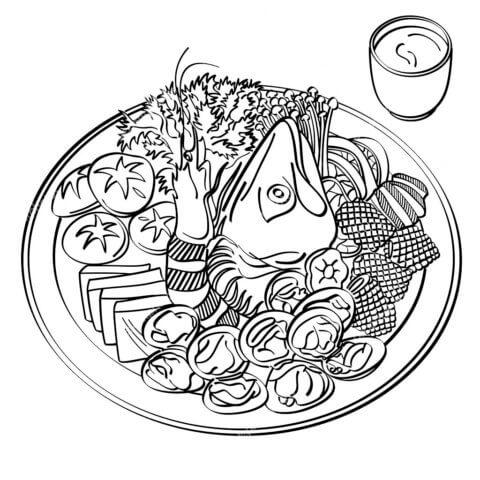 Схема шаблон бумажного блюда в технике квиллинга