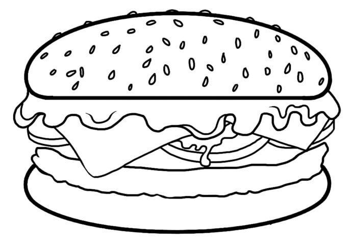 Схема шаблон бумажного бутерброда в технике квиллинга