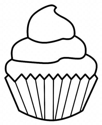 Схема для распечатки в виде кекса