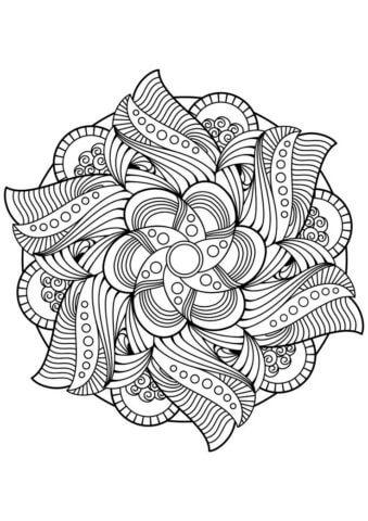 Схема для распечатки в виде узоров