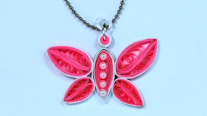 Бабочка в стиле квиллинг